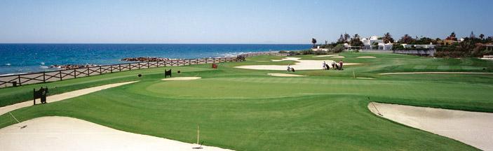 En taxi a Real club de golf Guadalmina en Marbella